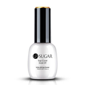 UR-SUGAR-15ml-Nagel-Gellack-Matt-Top-Coat-UV-Gel-Polish-Soak-Off-Nagellack-Gel