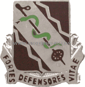 ARMY 210 SUPPORT BATTALION UNIT CREST