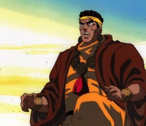 Jojo-039-s-Bizarre-Adventure-Anime-Production-Cel-Douga-Animation-Art-Avdol-1993-OVA