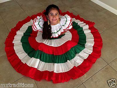 Fiesta Dress Cinco de Mayo Toddler Mexican Dresss