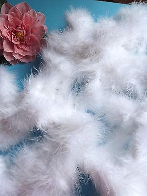 Cooperativa 509 # Splendido Boa Bianco Per Tutte Creazioni Grande Lunghezza! Colori Armoniosi