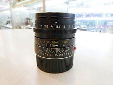 "Leica Summilux-M 35mm f/1.4 ASPH ""Non 6 Bit"" Camera Lens #11874 - Black (E#105)"