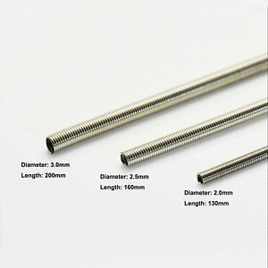 Stainless-Steel-Spring-Tube-Energy-Cable-Pipe-Modified-Part-For-HG-MG-PG-Gundam