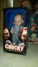 "SIDESHOW ""BRIDE OF CHUCKY"" SCARED CHUCKY DOLL"