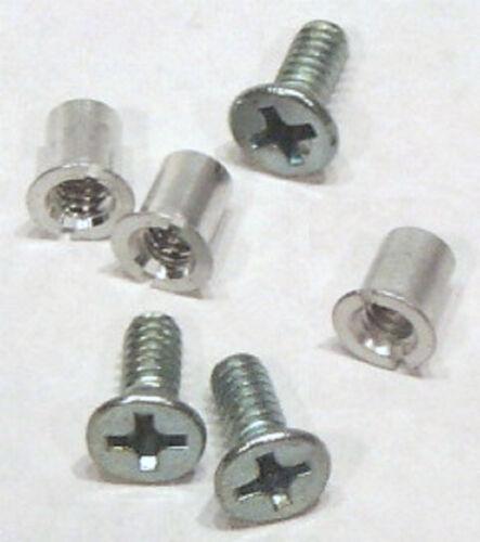 Hardware Set 1//4 Open Reel 24 of Screws /& Nuts TME For AMPEX ATR RMGI Reels