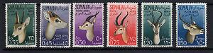 SOMALIA-AFIS-1955-Animali-Posta-Aerea-MNH