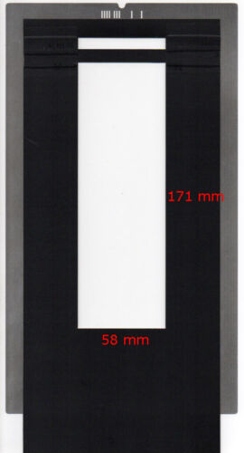 custom size. Film holder for Imacon Flextight scanners 6x17 with ID code