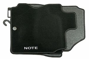 Nissan-Note-Genuine-Velour-Mats-Tailored-Textile-Set-of-4-KE7559U011