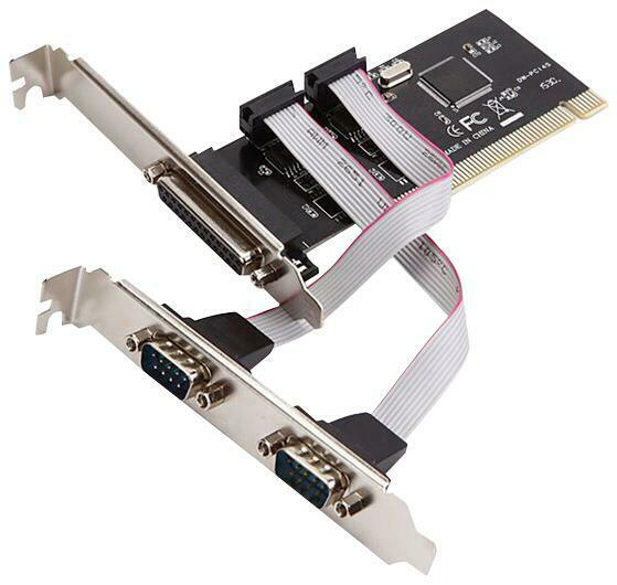 I/O CARD, PCI, SERIAL & PARALLEL COMBO, COMPUTER INTERFACE PCI, SER FOR DYNAMODE