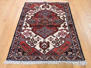 Details About 3 8 X5 New Persian Mazlagan Hand Knotted Oriental Pure Wool Rug R42530