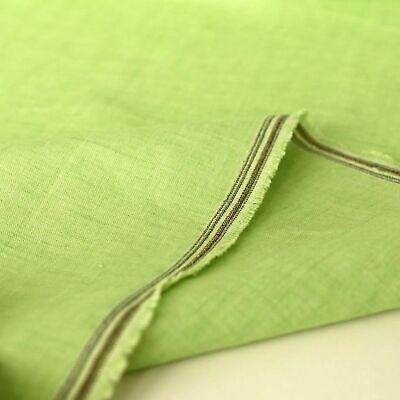 TÜRKIS Sommer Leinen-Stoff luftig leicht Kleid Shirt Bluse Gardine vorgewaschen