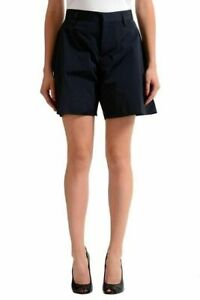 Dsquared2-Women-039-s-Navy-Casual-Shorts-US-XS-IT-38