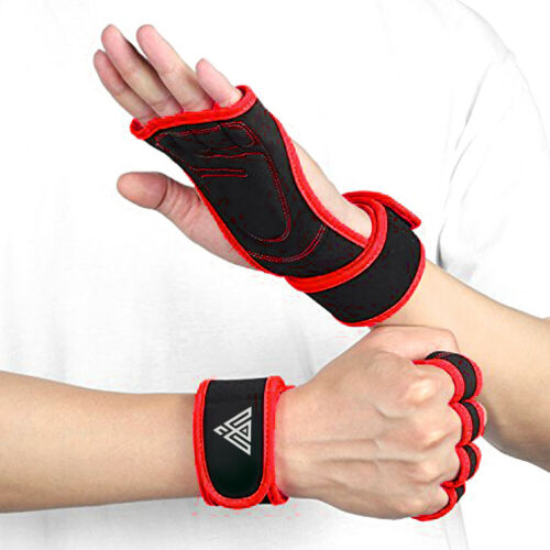 WYOX Sports Weight Lifting Gloves For Workout Gym Cross Training Pull Ups Grip