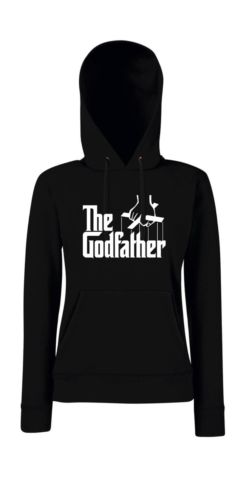 The Godfather i Eslogans Eslogans Eslogans i Fun i Digreenido i Femenino Jersey Capucha 74929d