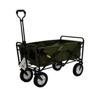 Mac Sports Folding Utility Wagon - Portable Convenience For Camping & Shopping