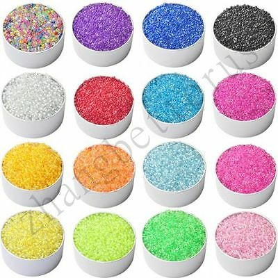 1000 Pcs Colorful Round Czech Glass Spacer Loose Beads Fashion Jewelry 2 mm
