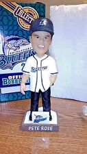 MLB BRIDGEPORT BLUEFISH OFFICIAL BOBBLEHEAD PETE ROSE 2015 SEALED IN BOX