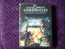 SHADOWRUN CHRONICLES BOSTON LOCKDOWN PC DVD NEW&SEALED