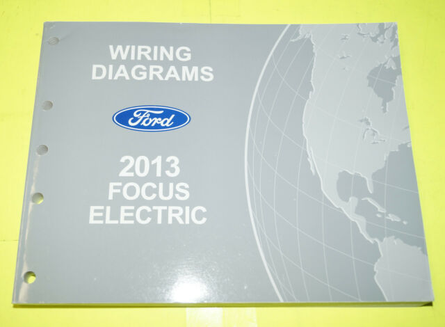 2013 Ford Focus Electric Oem Evtm Factory Wiring Diagrams