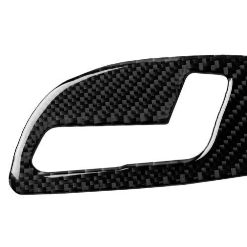 Carbon Fiber Interior Seat Adjustment Panel Trim For Chevrolet Camaro 2017-2019