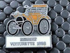 PINS PIN BADGE GARAGE CAR RENAULT VOITURETTE 1898