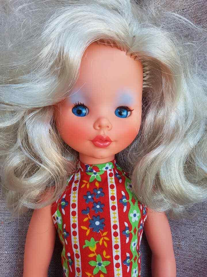 ●   bambola PAOLA ALTA MODA FURGA Paola Peonia Perla 43 cm   BELLISSIMA     •