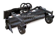 New 48 Soil Conditioner Harley Rake Attachment Bobcat Mt100 Mini Track Loader