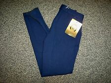 NWT Golden Dress Breeches Navy Blue Suede Knee Patches Size Ladies 22L