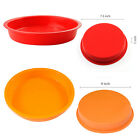 Round Cake Mold Pan Muffin Chocolate Pizza Baking Tray Silicone Mould Baking Pan