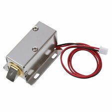 0837L DC 12V 8W Open Frame Type Solenoid for Electric Door Lock M2A5