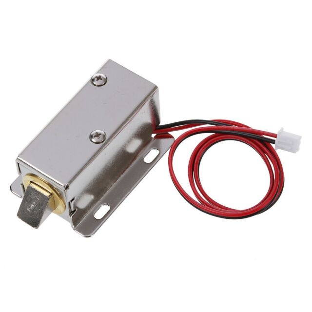 0837L DC 12V 8W Open Frame Type Solenoid for Electric Door Lock M2A5  sc 1 st  eBay & 0837l DC 12v 8w Open Frame Type Solenoid for Electric Door Lock TS ...