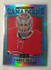 2016-17 OPC Platinum Rainbow Carey Price Montreal Canadiens