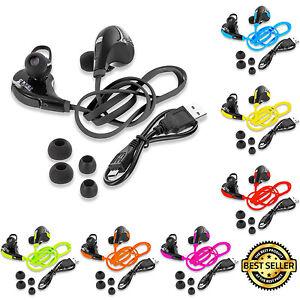 Wireless Neckband Earbuds Bluetooth Headphones In-Ear Sport Gym Running Phones