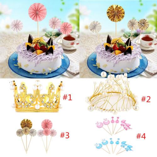 Cake Headband Decorative Birthday Wedding Party Cake DIY Decoration Supplies