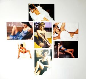 ANGELINA JOLIE CANDID SEXY RISQUE ACTRESS PHOTO LOT OF 7