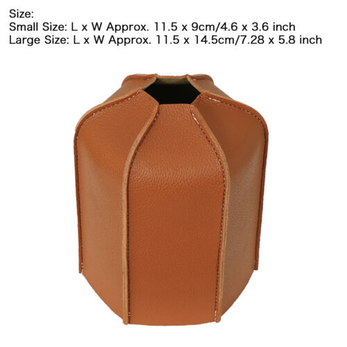 """Details about  /Leather Gas Tank Protective Case Cover Cylinder Storage Bag Outdoor Camping 5//7/"""""""
