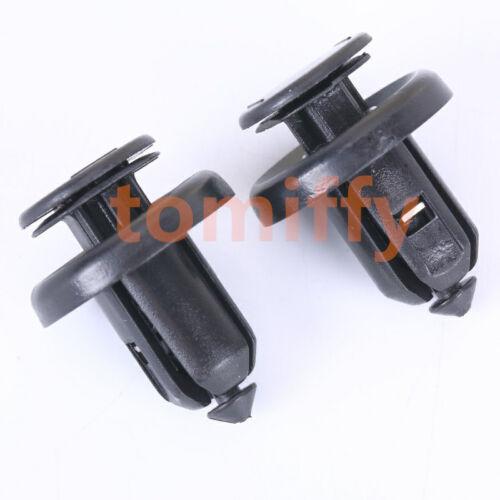 100x Splash Shield Retainer W //Metal Insert Bumper push type Clip 91506-S9A-003