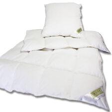 Daunen und Feder Bettenset aus Decke 135x200cm + 80x80cm Kissen Ökotex