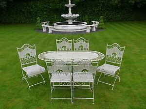 Image Is Loading Fabulous French Style 1 6m Ornate Antique White