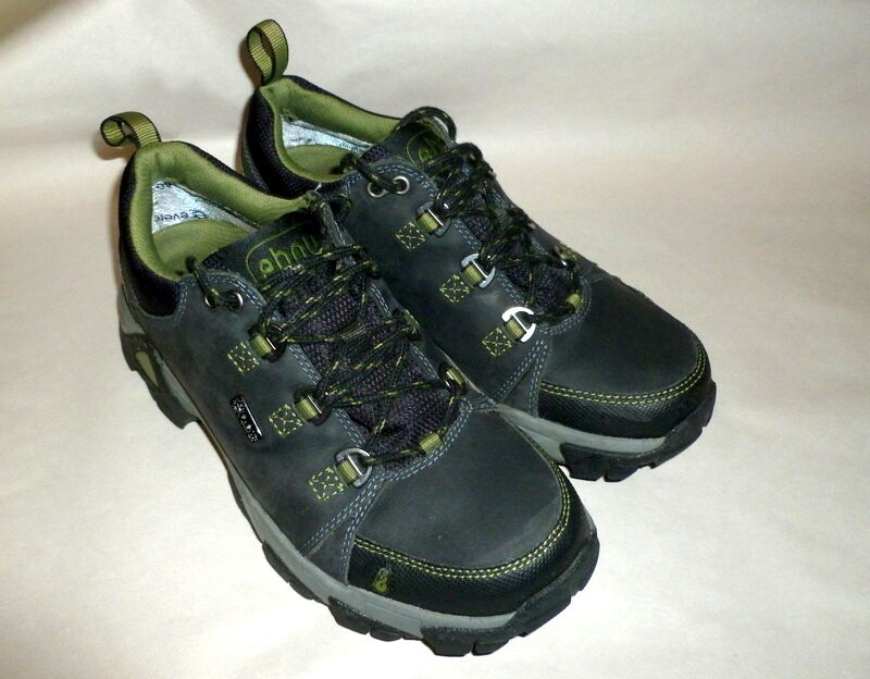 Uomo AHNU Teva Coburn Niedrig Steel Gray Suede Waterproof Sz Hiking Sport Schuhes US Sz Waterproof 7 baafea