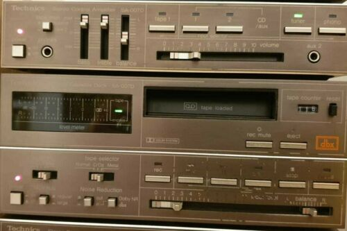Riemen-Set f TECHNICS SA-007D Stereo Cassette Deck SA-007 Micro System Belt-Kit