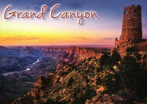 Desert View Watchtower Grand Canyon National Park Arizona Az