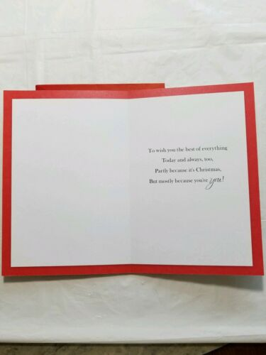 Christmas Greeting Card For Wife 8 x 5 1//2 inch Hallmark Expressions