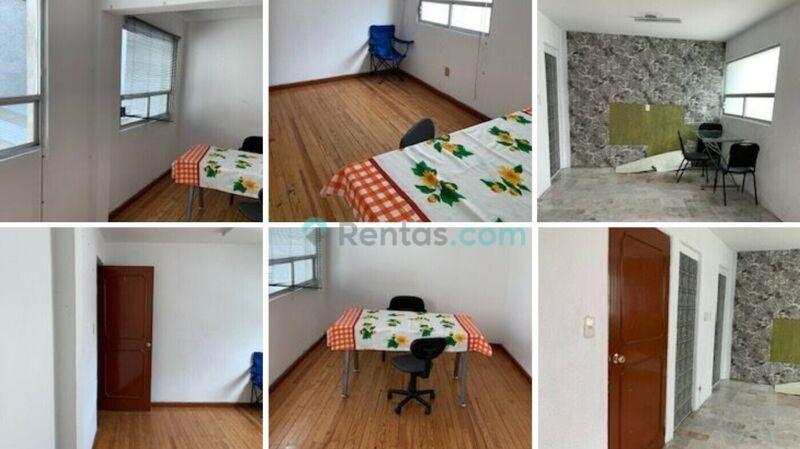 Renta Oficina Equipada, Portero, Seguridad, Estacionamiento Opcional... Narvarte | 13 m²