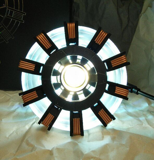 Very Rare Arc reactor Mk 2 Replica painted product From JAPAN F S