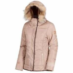 Regatta-Womens-Winika-Insulated-Water-Resistant-Parka-Jacket-Toffee-RRP-100