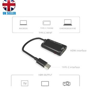 Details about USB-C Type C to HDMI Adapter For MHL Android Phone Tablet