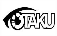 Otaku Symbol 2 Vinyl Sticker 7x6 Inch Black