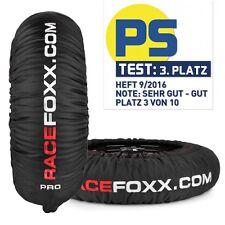 Reifenwärmer Tire warmers Pro 60/80° SUPERBIKE 120/180 - 200 17 Zoll Racefoxx