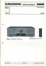 Grundig Service Anleitung Manual R 210  B532